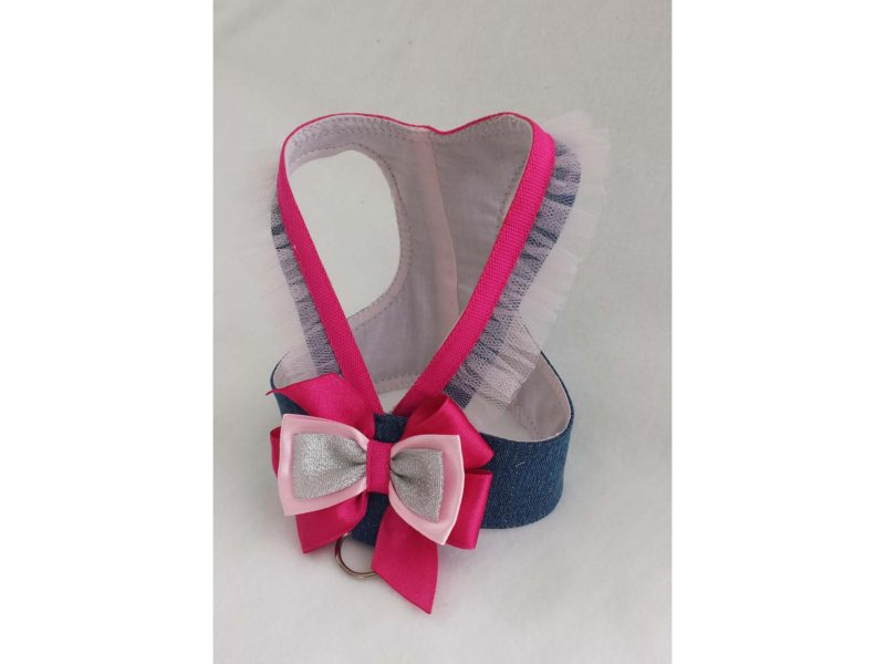 Princess Sequin Dog Harness 2