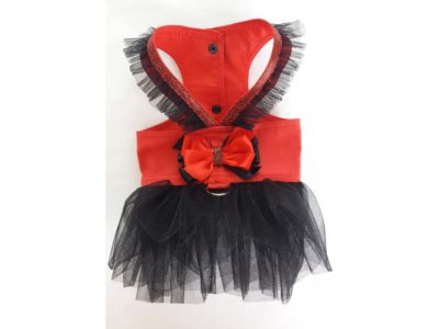 Red Princess Harness Tutu Skirt